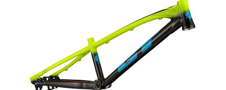 GT Bikes race bmx 2021 SPEED SERIES PRO Rahmen neon yellow/black
